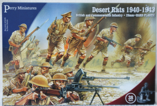 Perry Miniatures 28mm BWW-1 British Desert Rats
